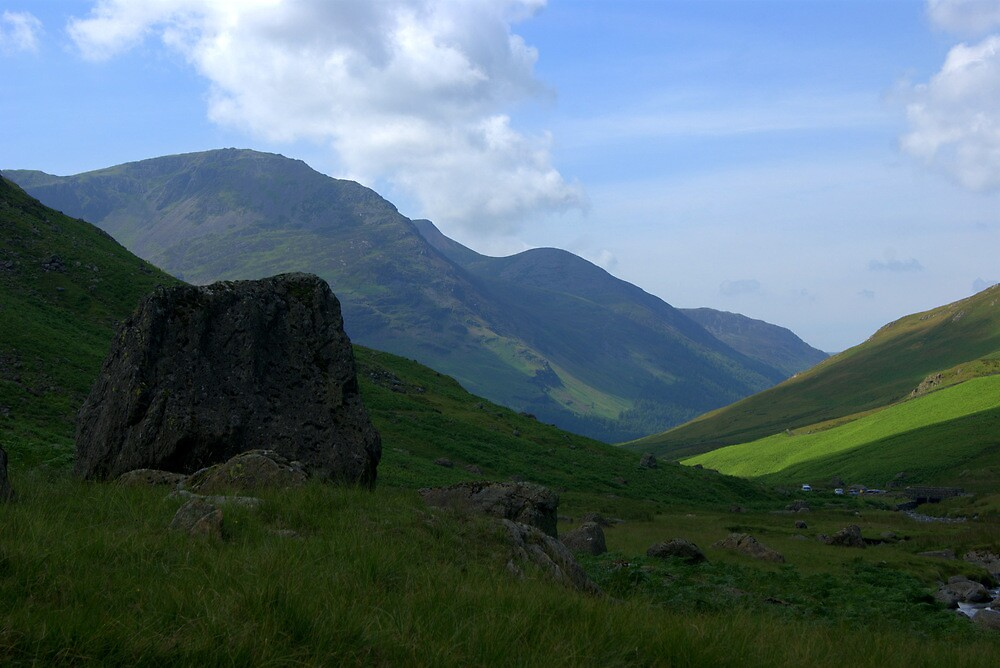 Honister Pass, Lake District National Park by Lou Wilson