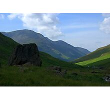Honister Pass, Lake District National Park Photographic Print