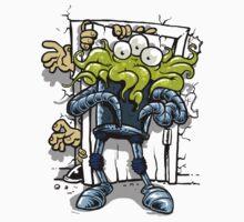 monsters at the door One Piece - Short Sleeve