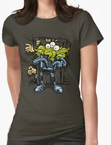 monsters at the door Womens Fitted T-Shirt