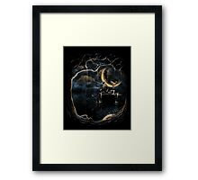 Night fishing Framed Print