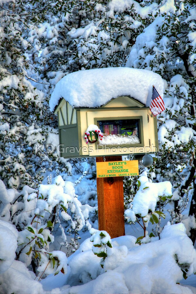 Baley's Book Exchange by K D Graves Photography