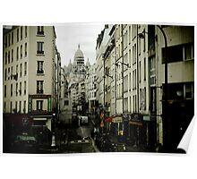 Paris Narrow Poster