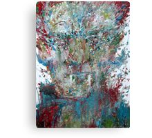 VAMPIRE - OIL PORTRAIT Canvas Print