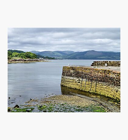 Kerrycroy Jetty Photographic Print