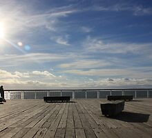 On the deck in New Plymouth by Dave Austin