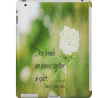 True Friends Anne of Green Gables iPad Case/Skin