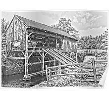 Sturbridge Village Saw Mill Poster