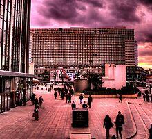 Paris Gare Montparnasse by Grimm Land