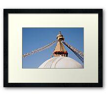 Bodhnath Stupa Framed Print