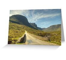 A Highland Road Greeting Card