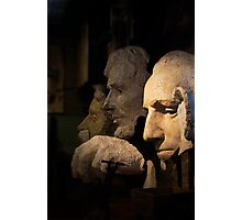 Faces of Rushmore Photographic Print