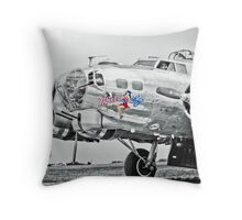 The Yankee Lady Throw Pillow