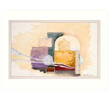 Oxford Arches Study 2 Art Print