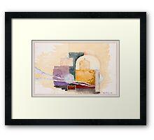 Oxford Arches Study 2 Framed Print