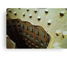 La Pedrera Barcelona Catalonia Spain Canvas Print