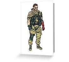 Venom Pixel Greeting Card