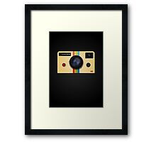 COOLaroid Framed Print