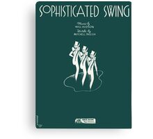 SOPHISTICATED SWING (vintage illustration) Canvas Print