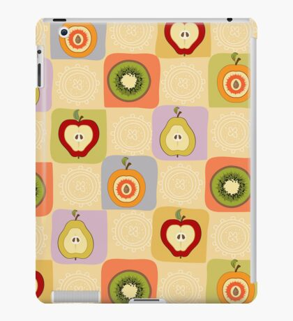 funny pattern with fruit iPad Case/Skin
