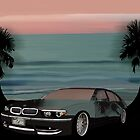 BMW on Daytona Beach by WhirlingThunder