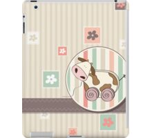 funny design with cow iPad Case/Skin