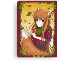 "Horo ""Spice & Wolf"" Canvas Print"