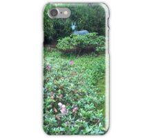 Japanese Tea Garden floral iPhone Case/Skin