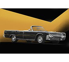 1961 Lincoln Continental Convertible Photographic Print