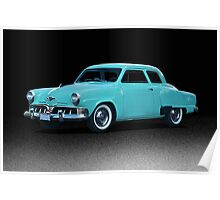 1952 Studebaker Champion Poster