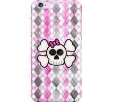 Kawaii Emo Girls Skull and Crossbones iPhone Case/Skin