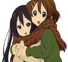 Yui and Azusa by KatR17