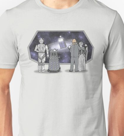 The Doctor Srikes Back Unisex T-Shirt