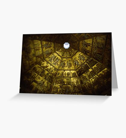 Golden - Lomo Greeting Card