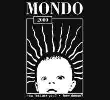 MONDO 2000 - How Fast, How Dense? One Piece - Short Sleeve