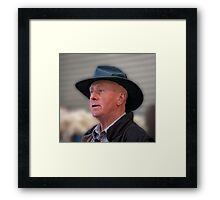 Station Chief Framed Print