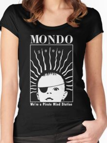 MONDO 2000 - Pirate Mind Station Women's Fitted Scoop T-Shirt
