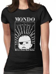 MONDO 2000 - Pirate Mind Station Womens Fitted T-Shirt