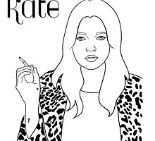Kate Moss by Whiteland