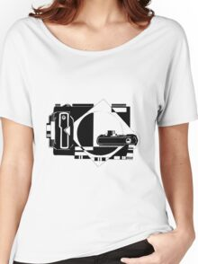 Photographer design Women's Relaxed Fit T-Shirt