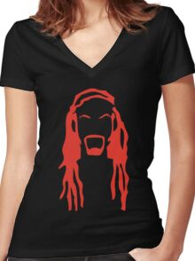 Pickles - The drummer Women's Fitted V-Neck T-Shirt
