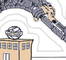 Kal-vin and Zoddes Sticker