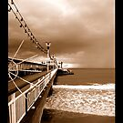 iPAD CASE Traditional Pier by Darren Bailey LRPS