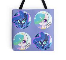 Sun and Moon Princesses Tote Bag