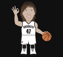 NBAToon of Andrei Kirilenko, player of Brooklyn Nets by D4RK0