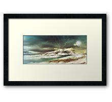 Fantasy Shoreline Framed Print