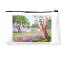 View of Point Heathcote on the Swan River, WA Studio Pouch