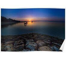 Sanur Beach Sunrise Poster