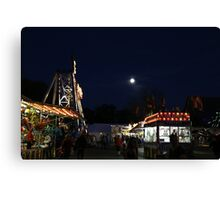 Carnival and Moon Canvas Print