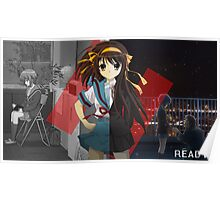 The Disappearance ofHaruhi Suzumiya  Poster